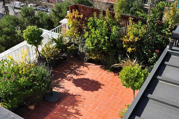 disseny de terrassa Sant Gervasi