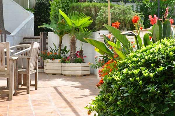 jardines en Sant Cugat
