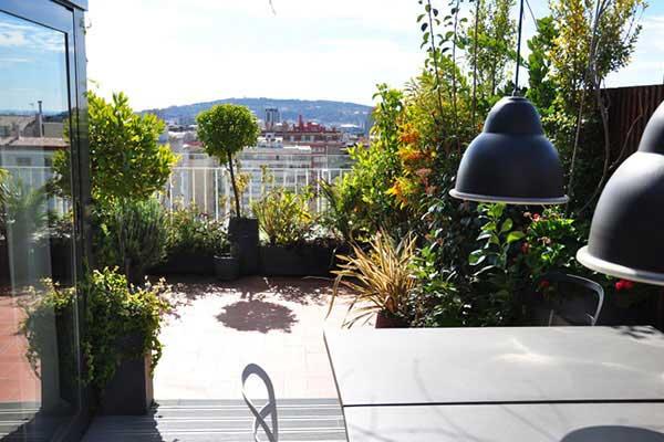 terraza Sant Gervasi Barcelona
