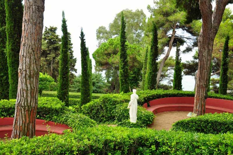 jardines de Santa Clotilde 10
