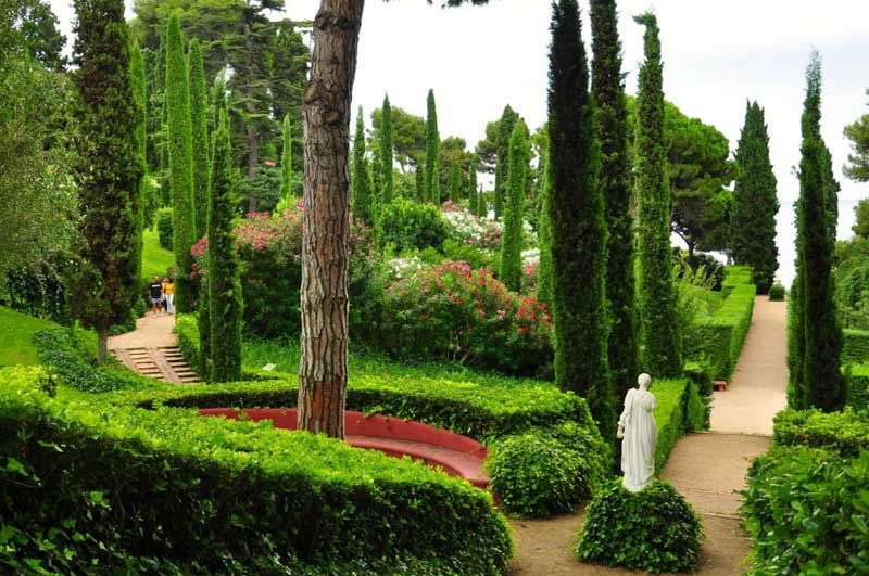 jardines de Santa Clotilde 12