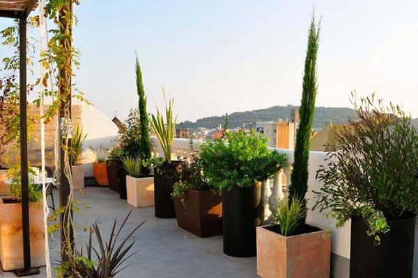 diseño de terraza Balmes