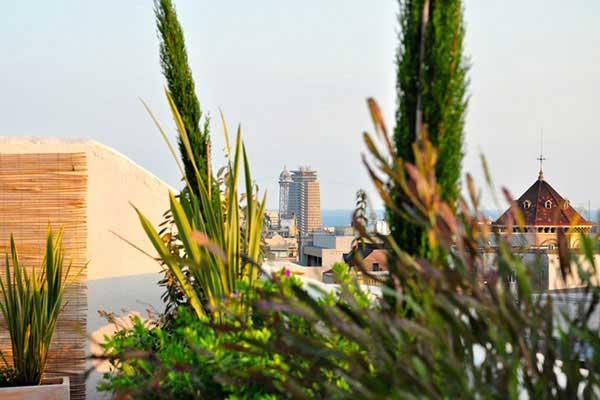 diseño integral terraza Barcelona Balmes