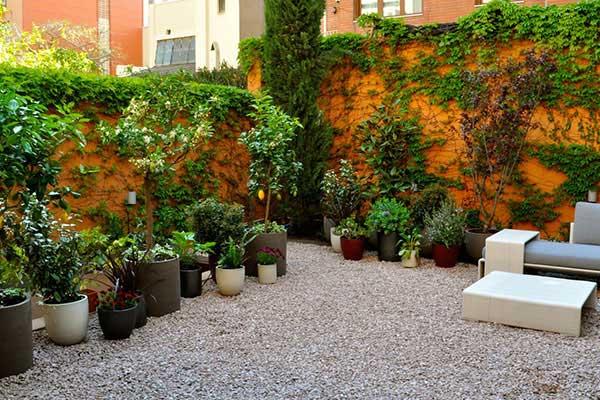 Dise o integral de jard n en el barrio de gracia for Proyectos de jardines
