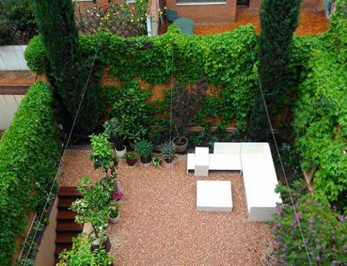 Diseño integral de jardín en el barrio de Gracia