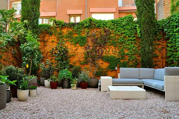 diseño integral de jardín Gracia
