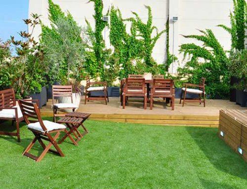 Dise o terraza sant feliu barcelona proyectos terrazas - Atico terraza barcelona ...