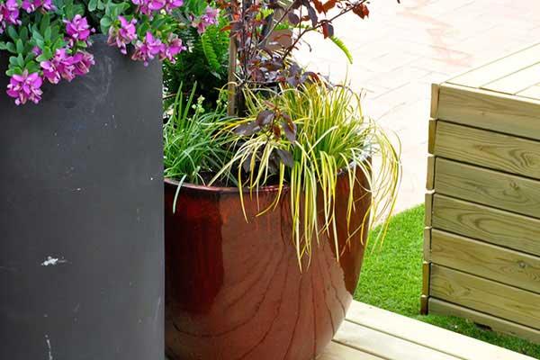 disseny de terrassa a àtic