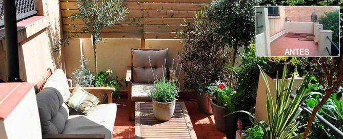 diseños paisajistas para patios pequeños en la ciudad