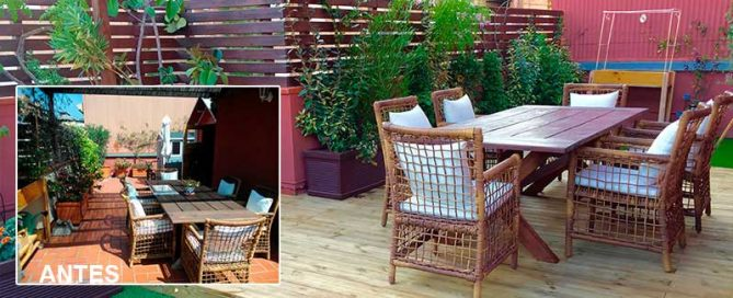 restyling de terraza