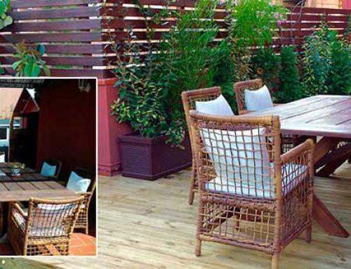 Restyling terrassa a Barcelona per Ésverd