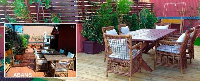 restyling terrassa