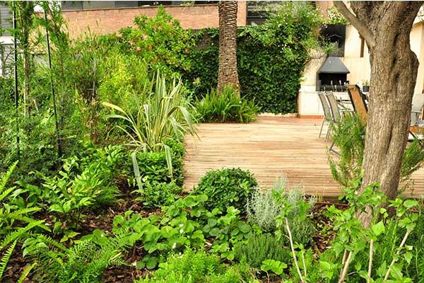 diseño de jardín en Horta Barcelona