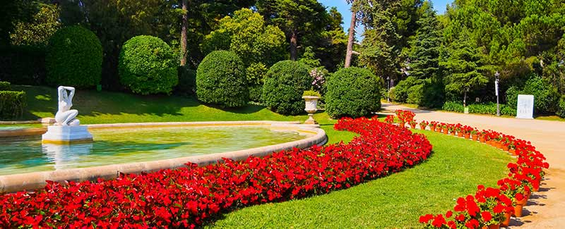 jardines Palacio de Pedralbes