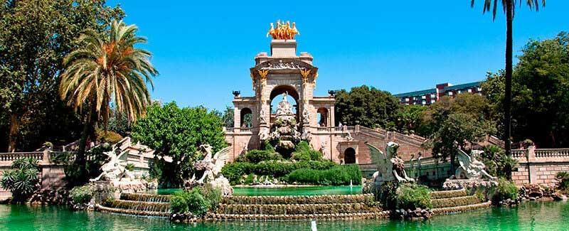 jardines parque de la Ciutadella