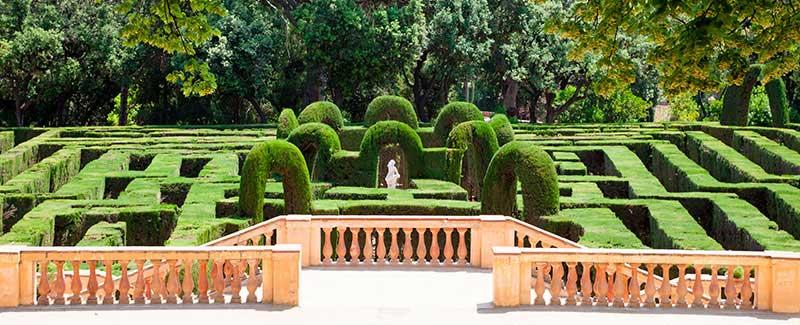 mejores jardines de Barcelona