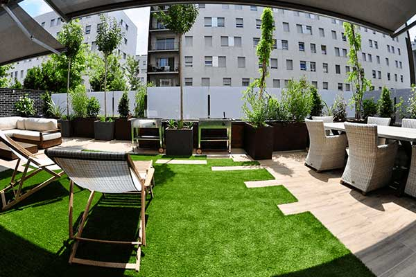 diseño terraza Sant Feliu Barcelona