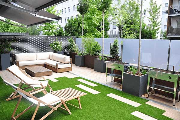 diseño terraza Sant Feliu