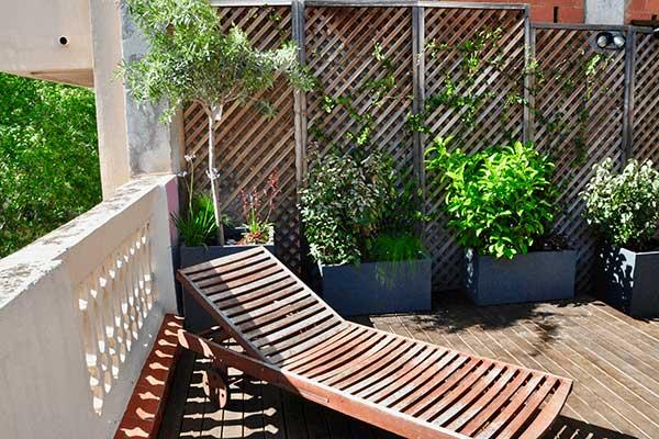 disseny de terrassa barri Gràcia