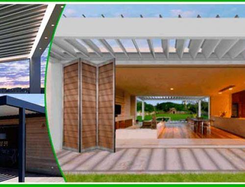 Pèrgoles Bioclimàtiques per a jardins i terrasses