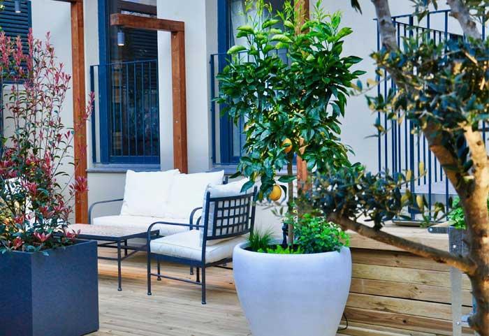 diseño terrazas Barcelona