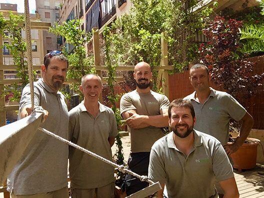 presupuesto de jardinería en Barcelona
