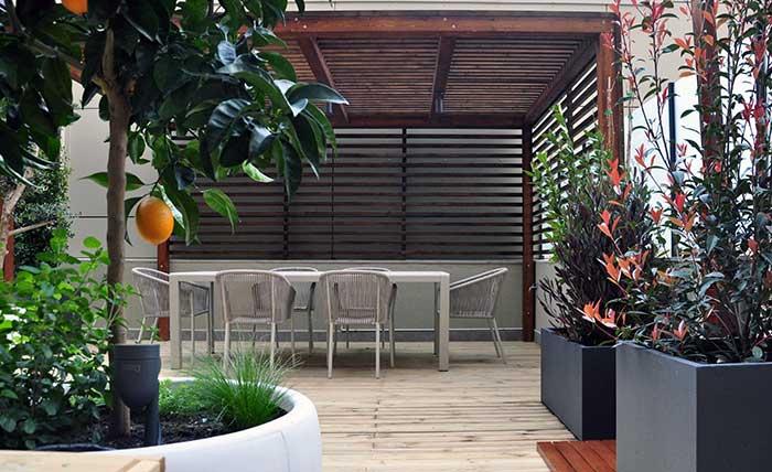 diseño terraza Mallorca
