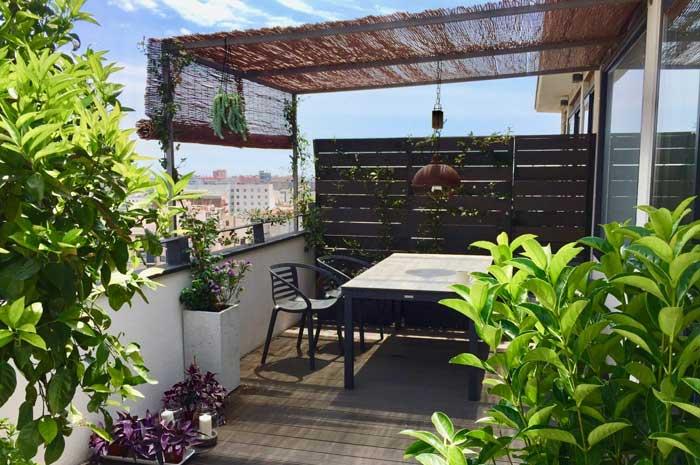 terraza en Poble Nou