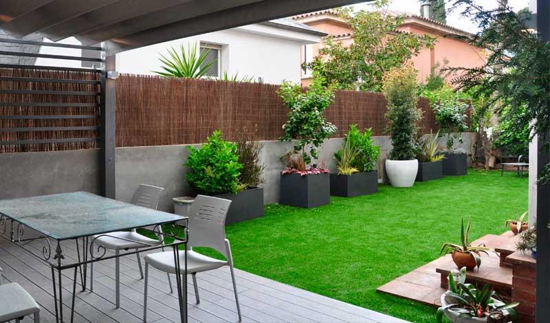 proyectos de jardines en Barcelona