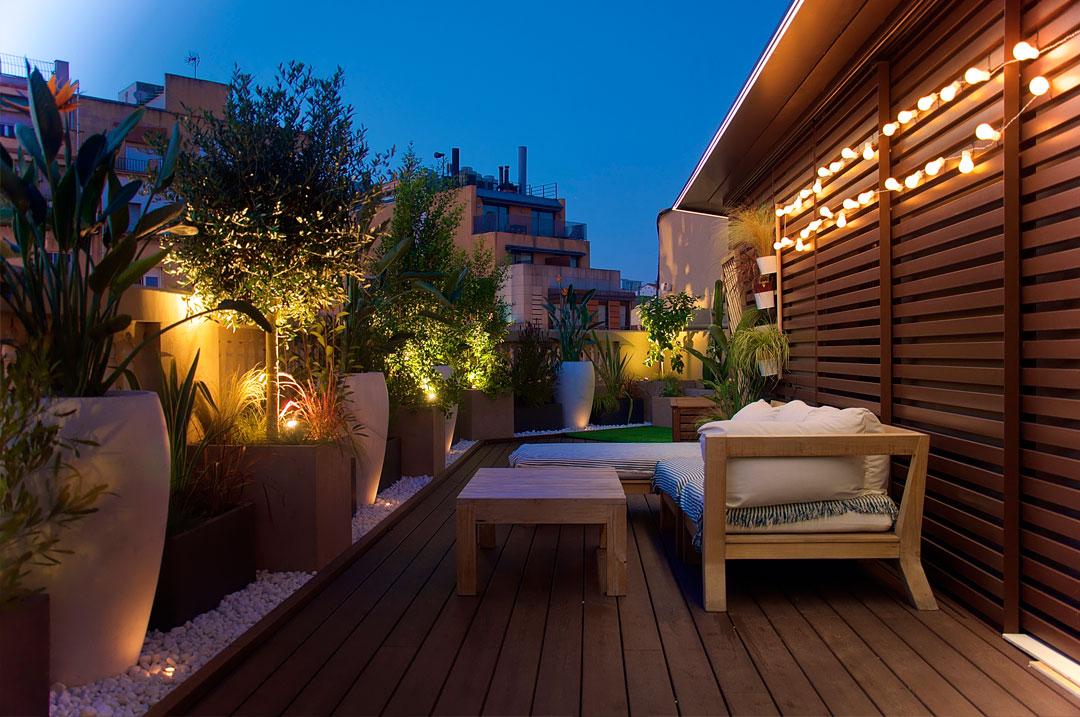 terraza calle de Aragón Barcelona
