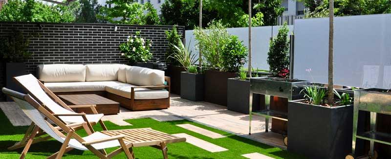 jardines en las ciudades