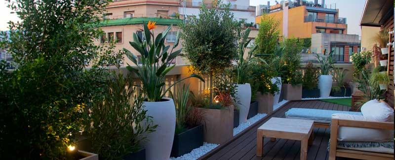 jardinería urbana