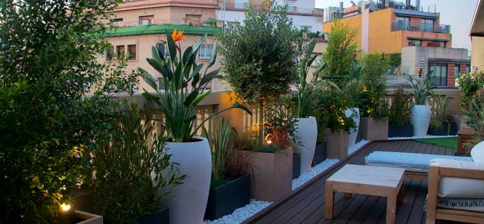 jardineria urbana